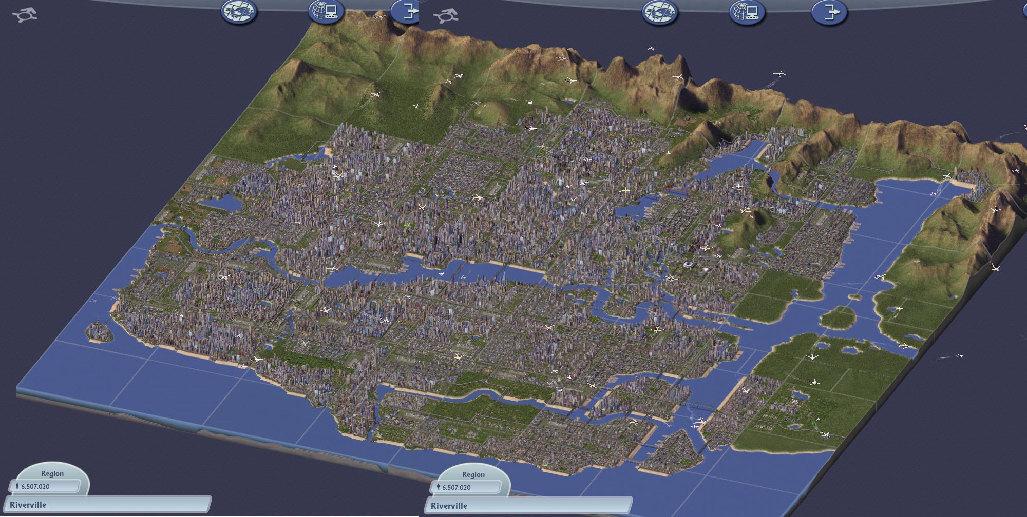 Simcity vs cities skylines comparison citiesskylines regions gumiabroncs Gallery