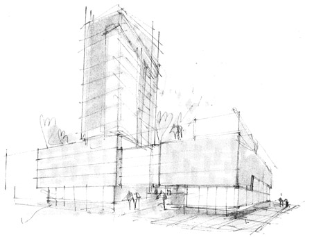 Arkitektur arkitektur sketch : HERNING | Projects & Construction - SkyscraperCity